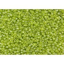 Margele Toho 8/0 105 Transparent Lustered Lime Green