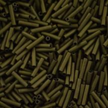 Margele Toho Bugle 9mm 0617 Matte Color Dk Olive #3