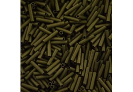 Margele Toho Bugle 9mm 617 Matte Color Dk Olive #3