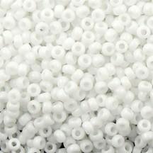 Margele de nisip Miyuki 15/0 White Chalk Opaque 0402