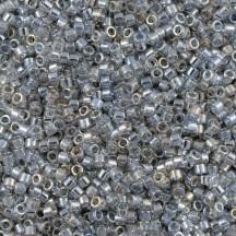 Delica 11/0 DB0114 Transparent Silver Grey