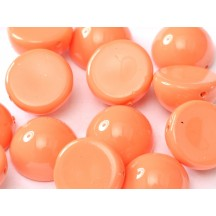 Margele Dome 14x8mm Peach Coral 48955