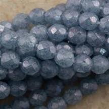 Margele Cehesti Fire-Polish Luster Stone Blue 8mm 64464CR