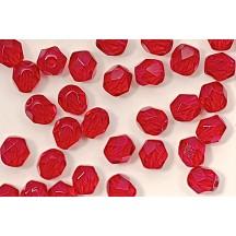 Margele Cehesti Fire-Polish Siam Ruby 4mm 90080