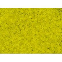 Margele Toho 11/0 12F Transparent Frosted Lemon