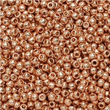 Margele Toho 15/0 5gr PF551 Permanent Finish- Galvanized Rose Gold