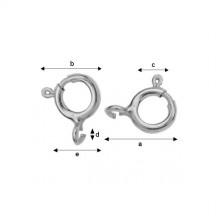 Incuietoare rotunda Argint 925