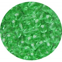 Margele Cehesti Fire-Polish 4mm 50610 Praire Green