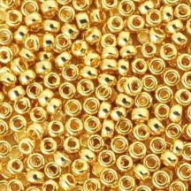 Margele de nisip Miyuki 8/0 5gr 24KT Gold Plated 0191