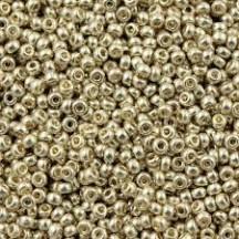 Margele de nisip Miyuki 11/0 4201 Duracoat Galvanized Silver