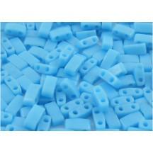 Miyuki Half Tila Opaque Turquoise Blue HTL0413