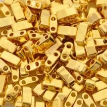 Miyuki Half Tila HTL0191  24KT Gold Plated HTL0191