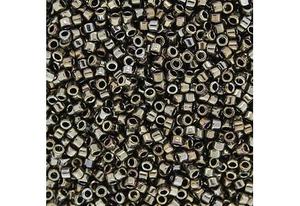 Delica 11/0 DB0254 Galvanized Tarnished Silver