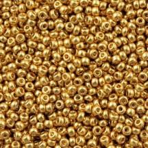 Margele de nisip Miyuki 11/0 4202 Duracoat Galvanized Gold