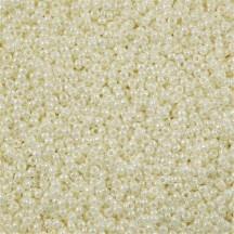 Margele de nisip Miyuki 11/0 0591 Ivory Pearl Ceylon