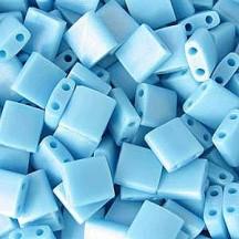 Tila Opaque Turquoise Blue TL0413