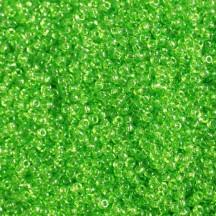 Margele de nisip Miyuki 11/0 Transparent Lime 0144