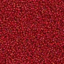 Margele de nisip Miyuki 15/0 Opaque Red Luster 1943
