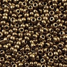 Margele de nisip Miyuki 15/0 5gr Metallic Dark Bronze 0457
