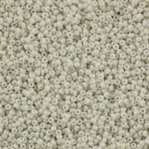 Margele de nisip Miyuki 15/0 Opaque Limestone Luster 0600