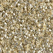 Delica 10/0 DB1831 Duracoat Galvanized Silver