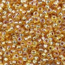 Margele de nisip miyuki 8/0 Gold Silver Lined 1003