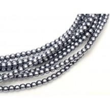 Perle Sticla Cehia 6mm Grey 70488