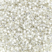 Delica 11/0 DB0041 Silver Lined Crystal