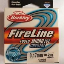 Fireline Crystal Clear 0.17mm