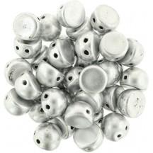 CzechMates Caboshon K0170JT Matte Metallic Silver