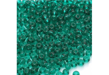Margele de nisip Preciosa Ornela 10/0 19001/50710 Transparent Emerald