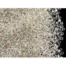 Margele de nisip Preciosa Ornela 8/0 78102 Silver Lined Crystal