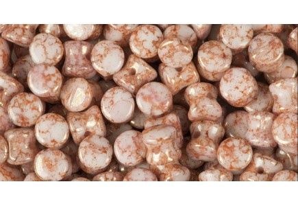 Margele Pellet Alabaster Terracota Red 03000/15495