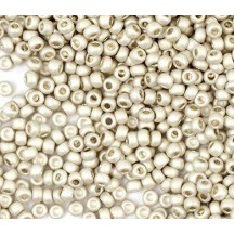 Margele de nisip Preciosa Ornela 10/0 Galvanized Lt Aluminium 18503