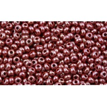 Margele de nisip Preciosa Ornela 10/0 Red Brown Opaque Luster 19001/18600