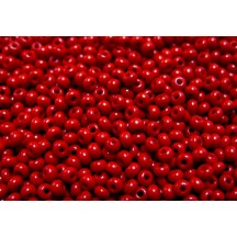 Margele de nisip Preciosa Ornela 10/0 Opaque Red Luster 19001/93190
