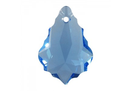 Swarovski Pandativ Baroque Aquamarine 22x15mm