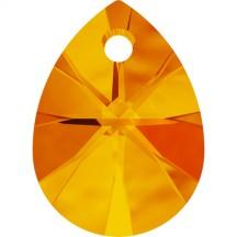 Swarovski Pandativ Mini Pear Tangerine 12 mm
