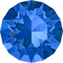Swarovski Xirius 1088 pp18 Saphire Foiled